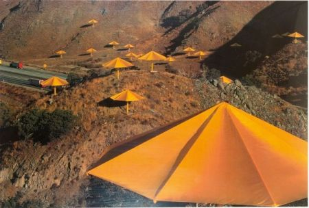 Offset Christo & Jeanne-Claude - Umbrellas