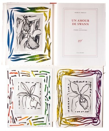Illustrated Book Alechinsky - Un amour de Swann