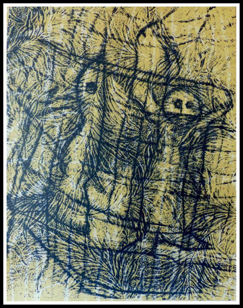 Lithograph Ernst - UN CHANT D'AMOUR