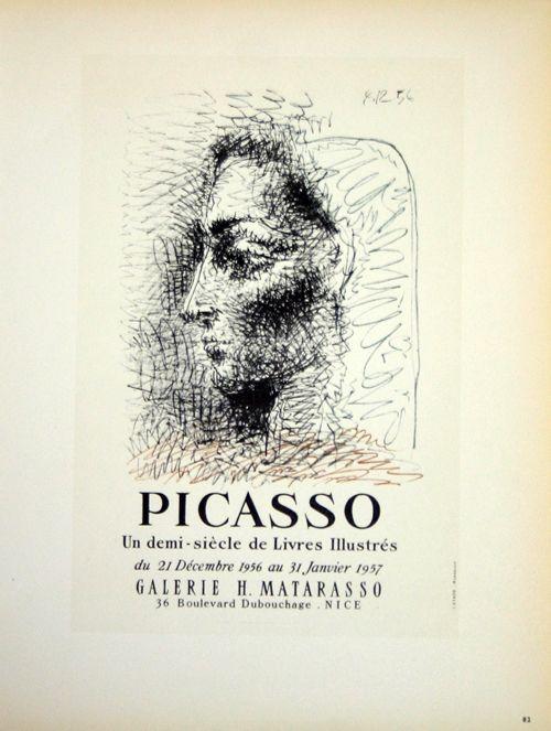 Lithograph Picasso (After) - Un Demi Siecles de Livres Illustrés
