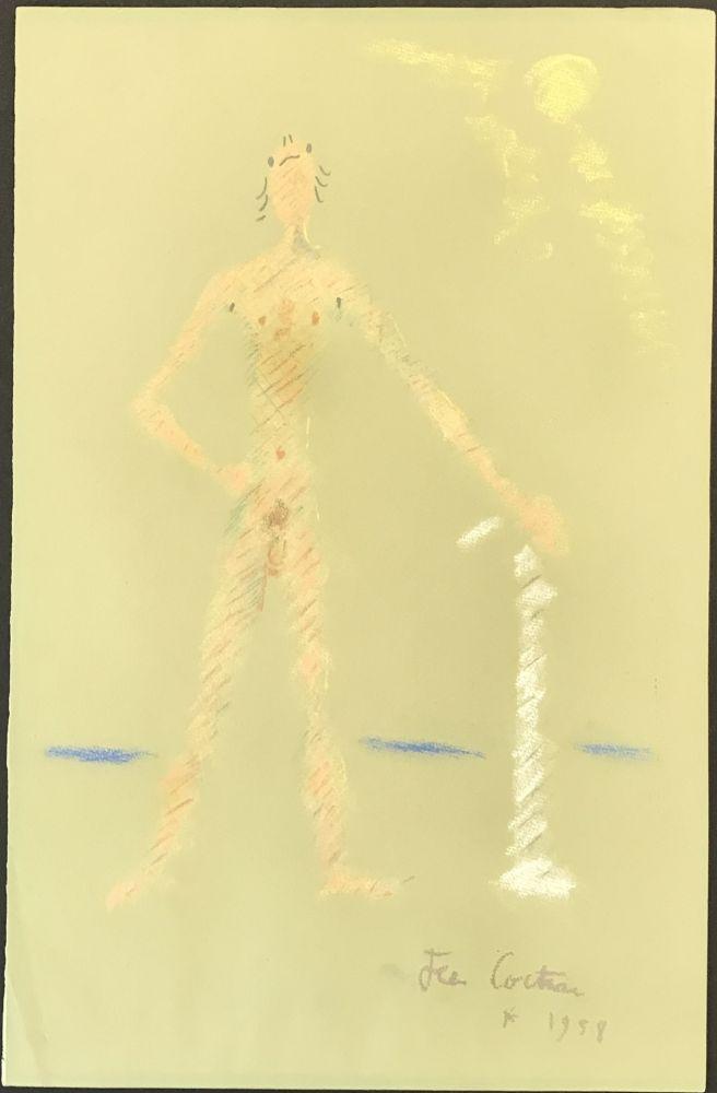 No Technical Cocteau - Un Personnage Debout et Nu (A Nude Standing Figure)