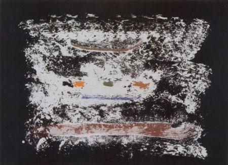 Lithograph Frankenthaler - Un poco más