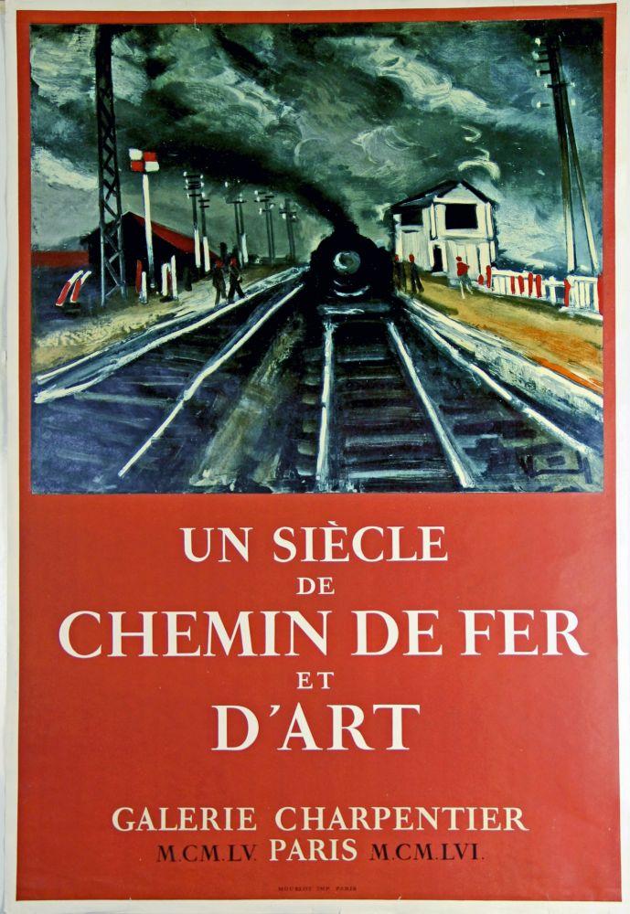 Offset Vlaminck - Un Siecle de Chemin de Fer et D'Art  Galerie Charpentier