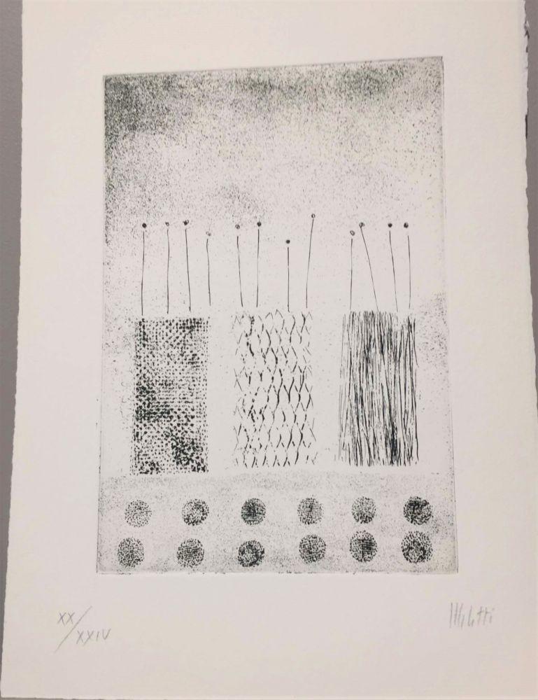 Engraving Melotti - Una Acquaforte