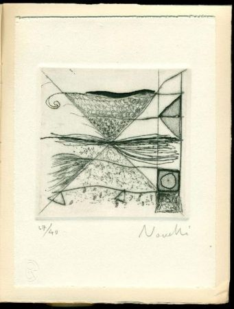Drypoint Novelli - Una ragione privata. Poemi 1966-1968