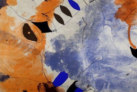 Lithograph Guinovart - Una veu