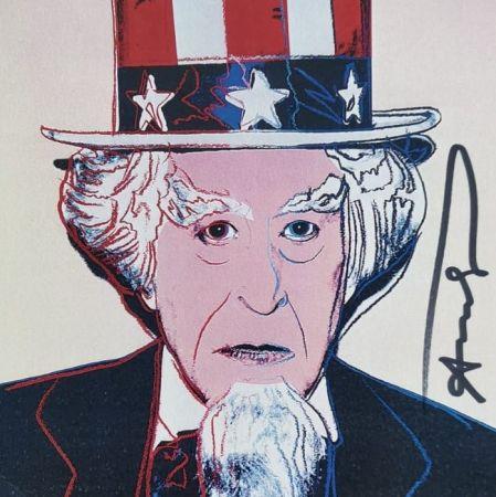 Screenprint Warhol - Uncle Sam