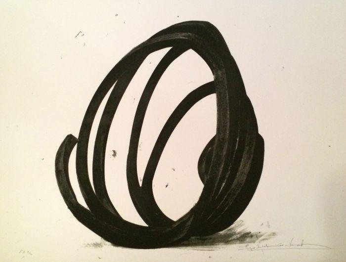 Screenprint Venet - Undetermined Line