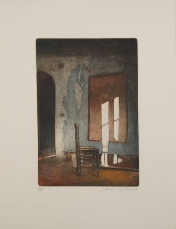 Etching And Aquatint Zado - Ungemaltes Bild