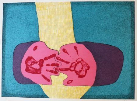Lithograph Serrano - Unidad de manos