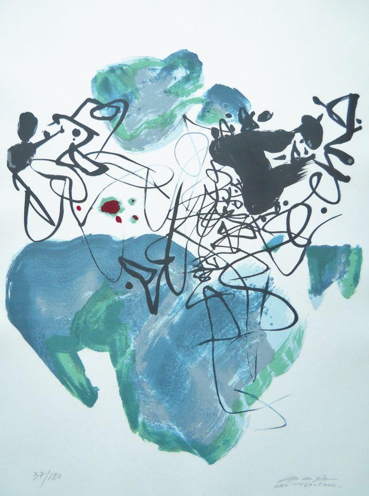 Screenprint Chu Teh Chun  - Universal Peace