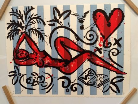Lithograph Szczesny - Unknown