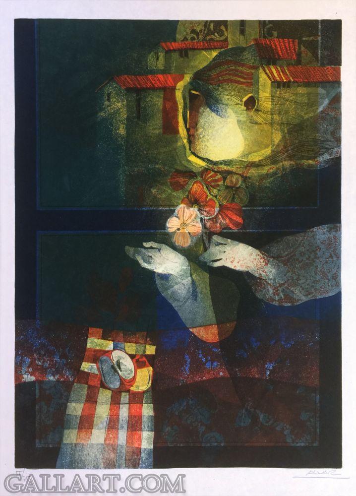 Linocut Alvar - UNKNOWN TITLE
