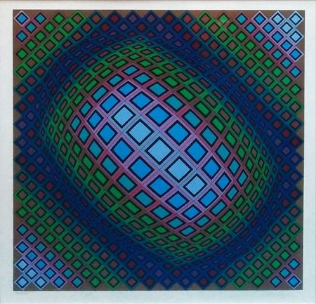 Screenprint Vasarely - UNKNOWN TITLE