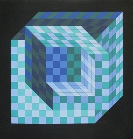 Screenprint Vasarely - UNTITLE