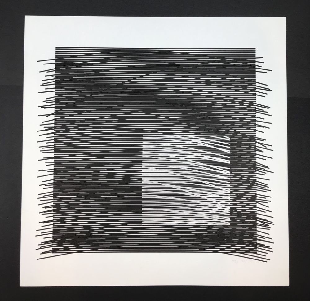 Lithograph Soto - Untitled
