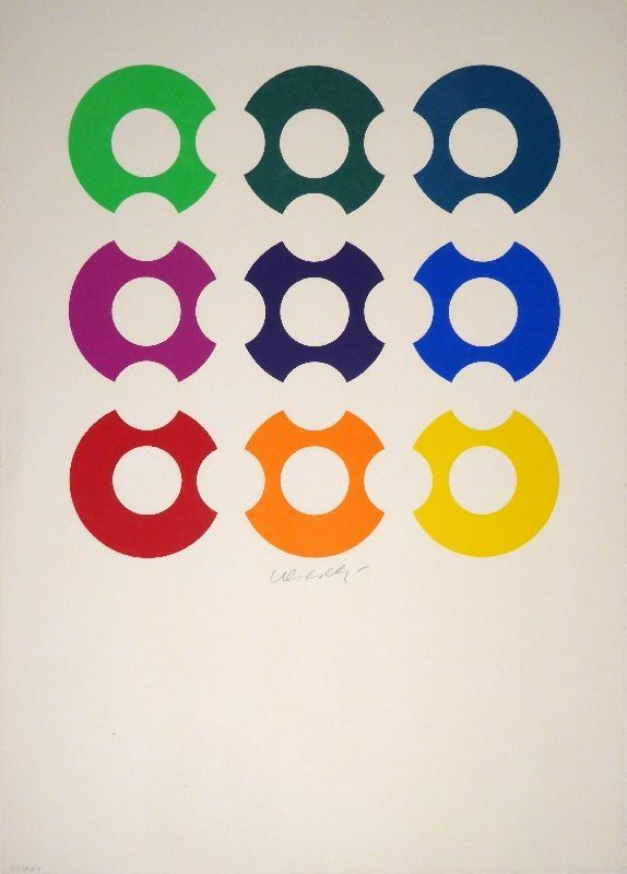 Screenprint Vasarely - Untitled