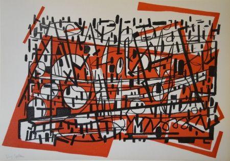 Lithograph Spiller - Untitled