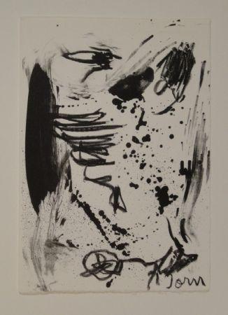 Lithograph Jorn - Untitled