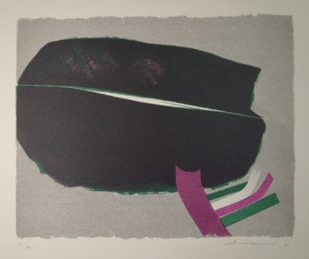 Lithograph Evrard - Untitled