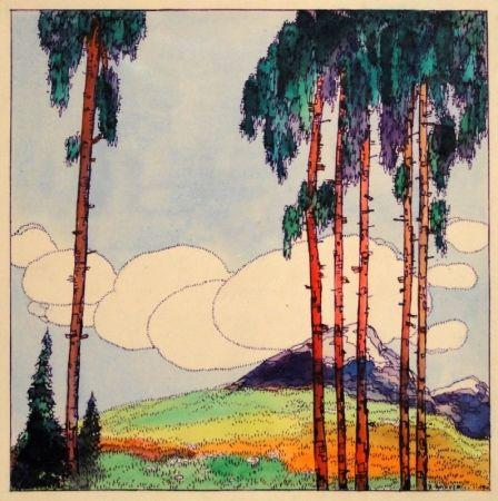 Monotype Buchner - Untitled