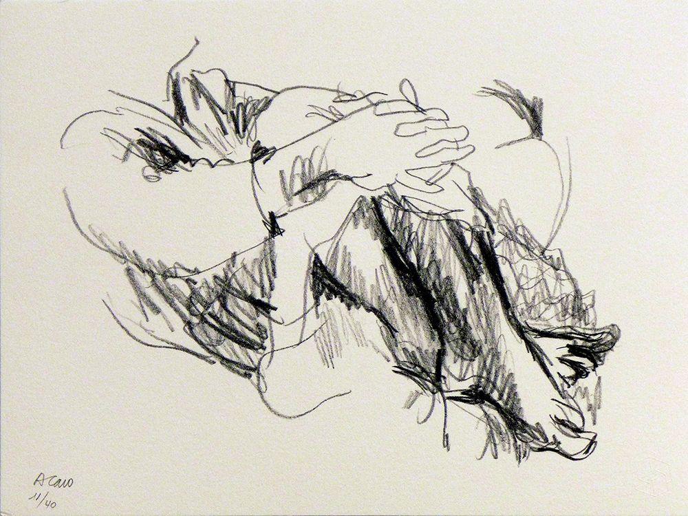 Lithograph Caro - Untitled