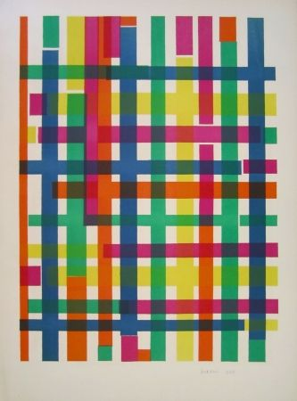 Lithograph D'orazio - Untitled