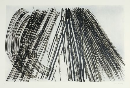 Etching And Aquatint Hartung - Untitled