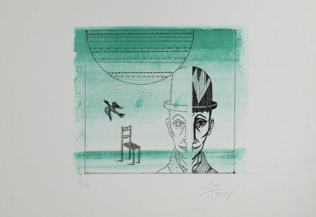 Lithograph Ponc - Untitled