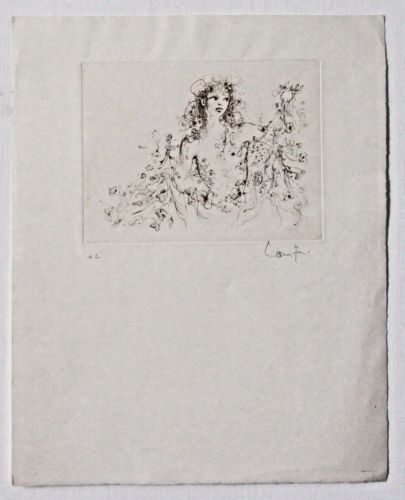 Lithograph Fini - Untitled