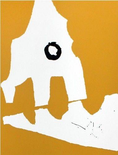 Screenprint Motherwell - Untitled