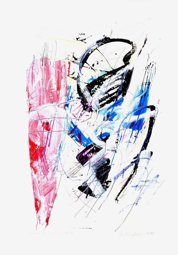 Screenprint Czichon - Untitled
