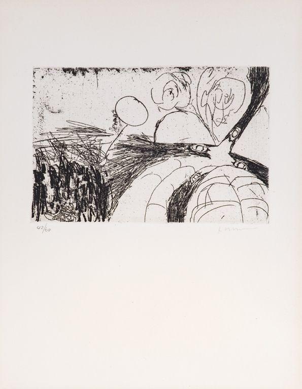 Engraving Whitman - Untitled