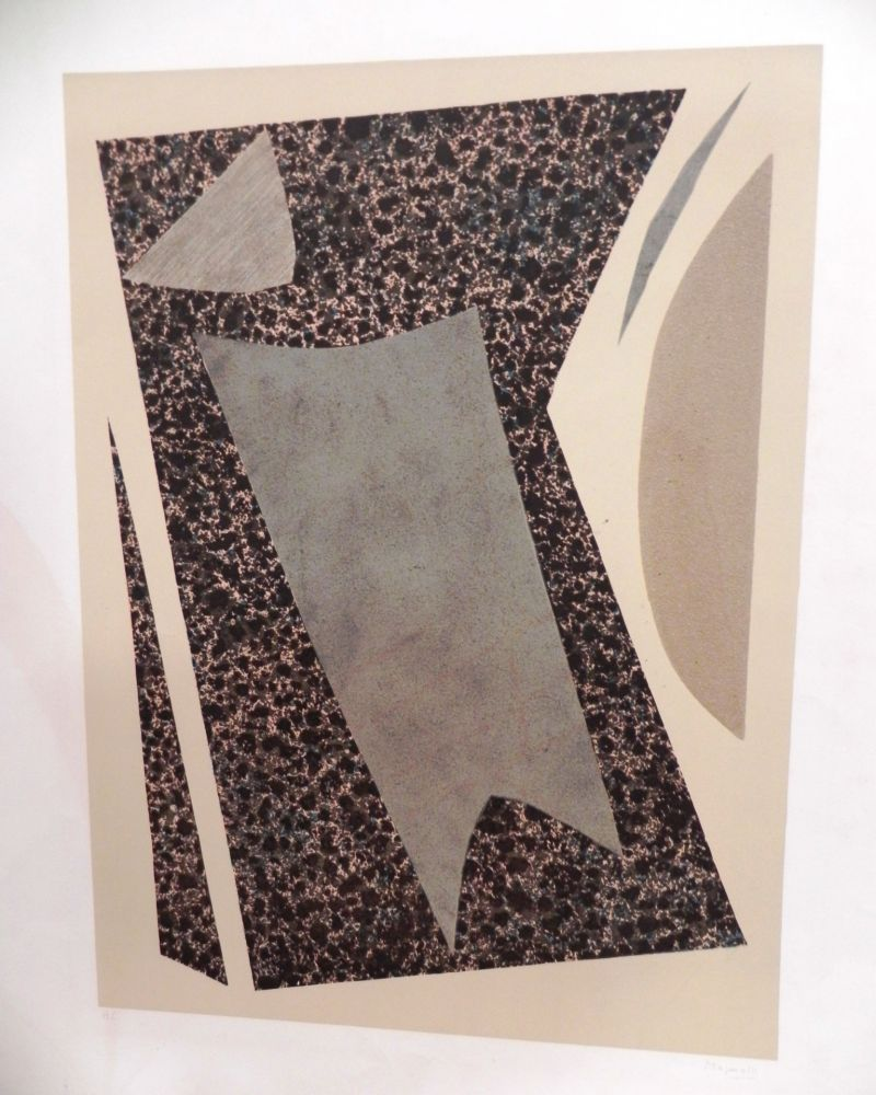 Lithograph Magnelli - UNTITLED