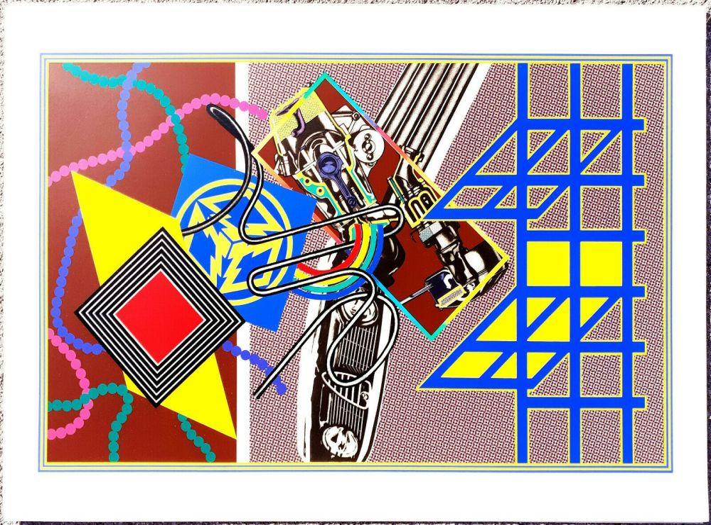 Screenprint Phillips - Untitled