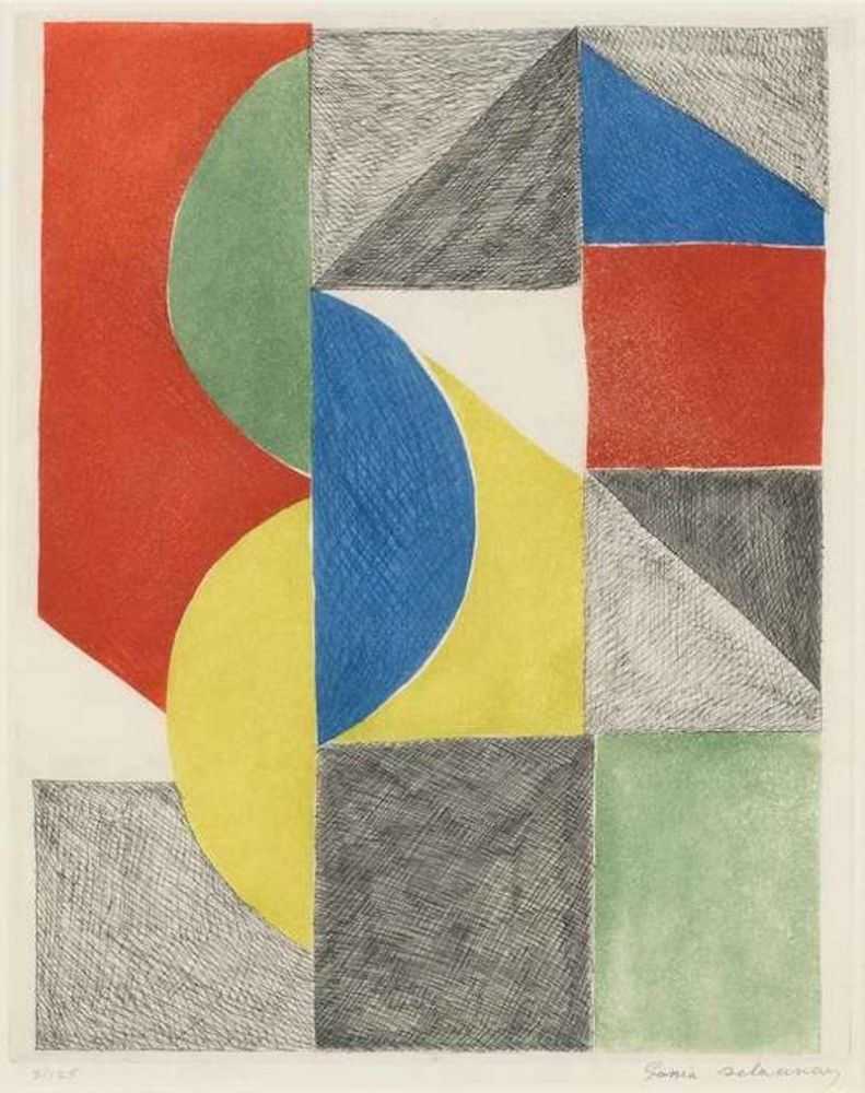 Etching And Aquatint Delaunay - Untitled