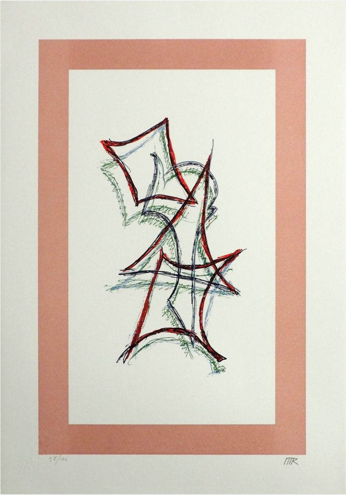 Lithograph Ray - Untitled