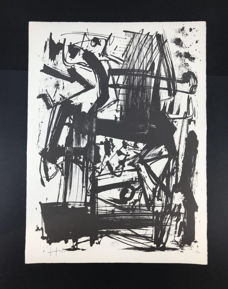 Lithograph Vedova - Untitled