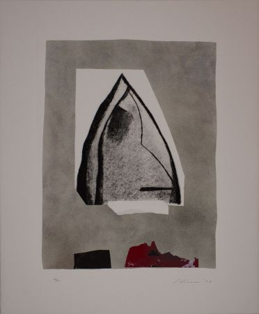 Etching And Aquatint Santomaso - Untitled