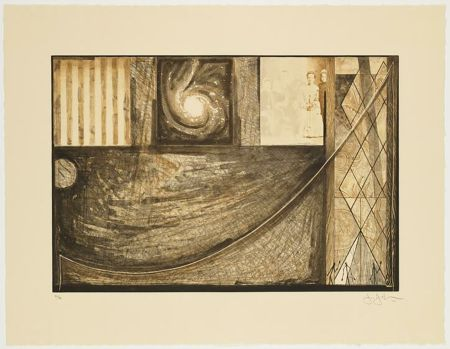 Etching Johns - Untitled