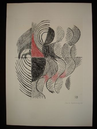 Etching Delaunay - Untitled