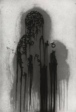 Etching Plensa - Untitled