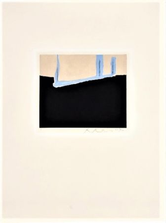 Etching And Aquatint Motherwell - Untitled