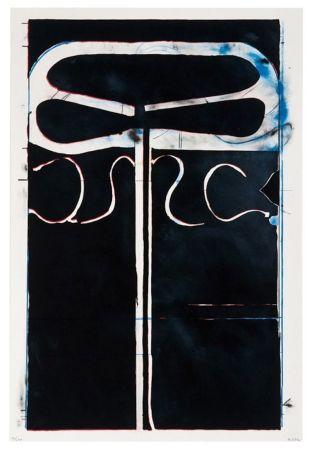 Lithograph Diebenkorn - Untitled