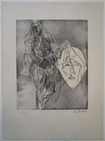 Etching And Aquatint Richier - Untitled
