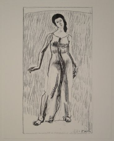 Lithograph Hodler - Untitled