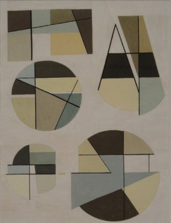Monotype Golubov - Untitled