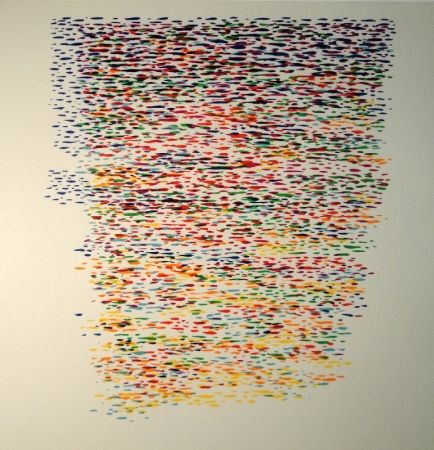 Lithograph Dorazio - Untitled