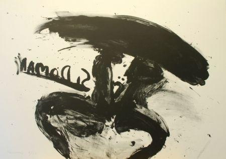 Lithograph Kounellis - Untitled