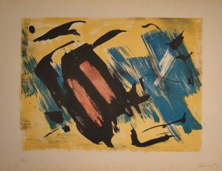Lithograph Schneider - Untitled